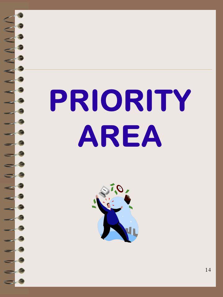 14 PRIORITY AREA
