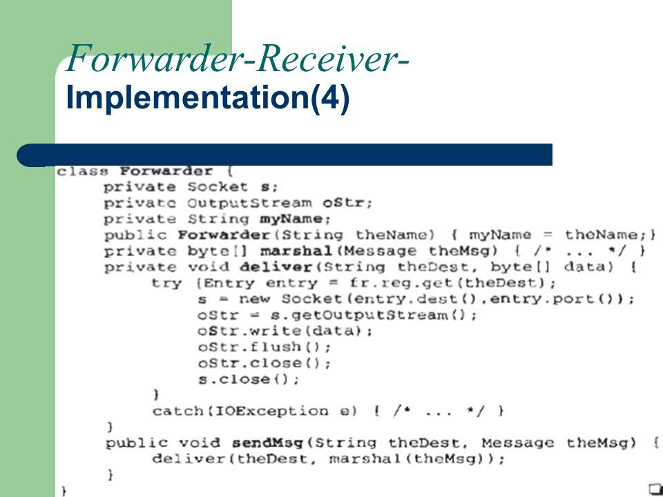 Forwarder-Receiver- Implementation(4)