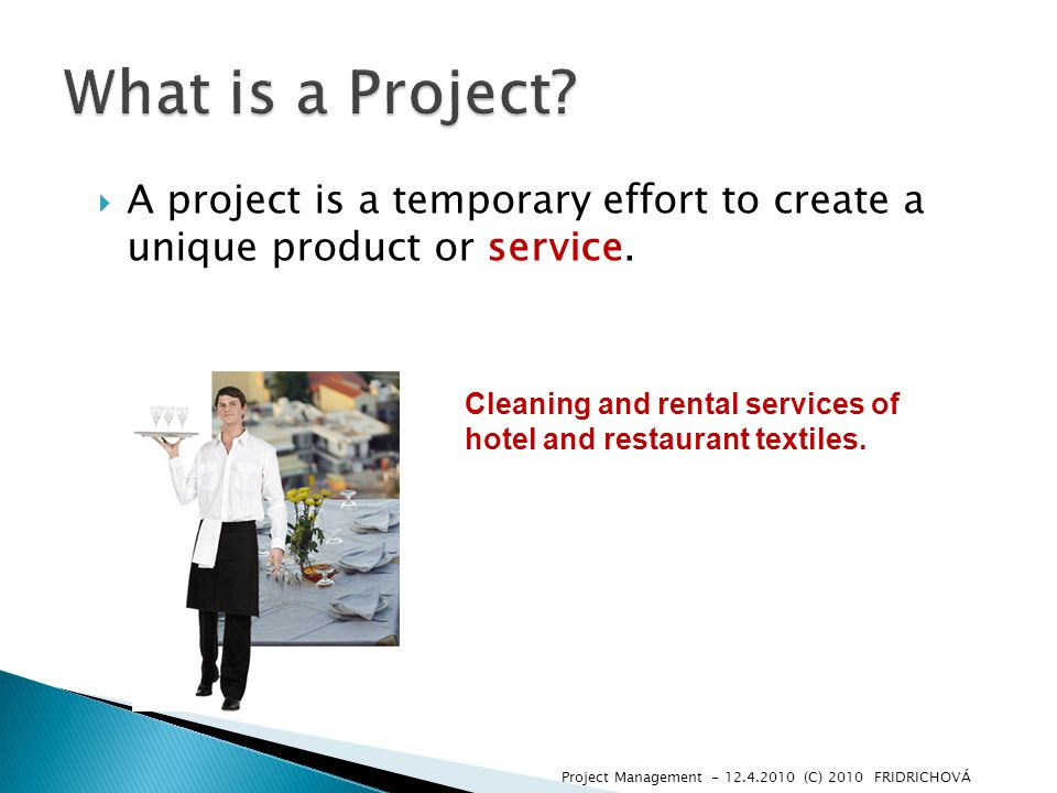  Projects usually include constraints and risks regarding cost, schedule or performance outcome (result).