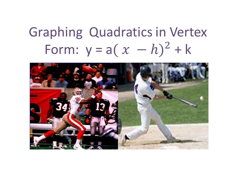 GUIDED PRACTICE for Examples 1 and 2 STEP 4 Draw a parabola through the plotted points.