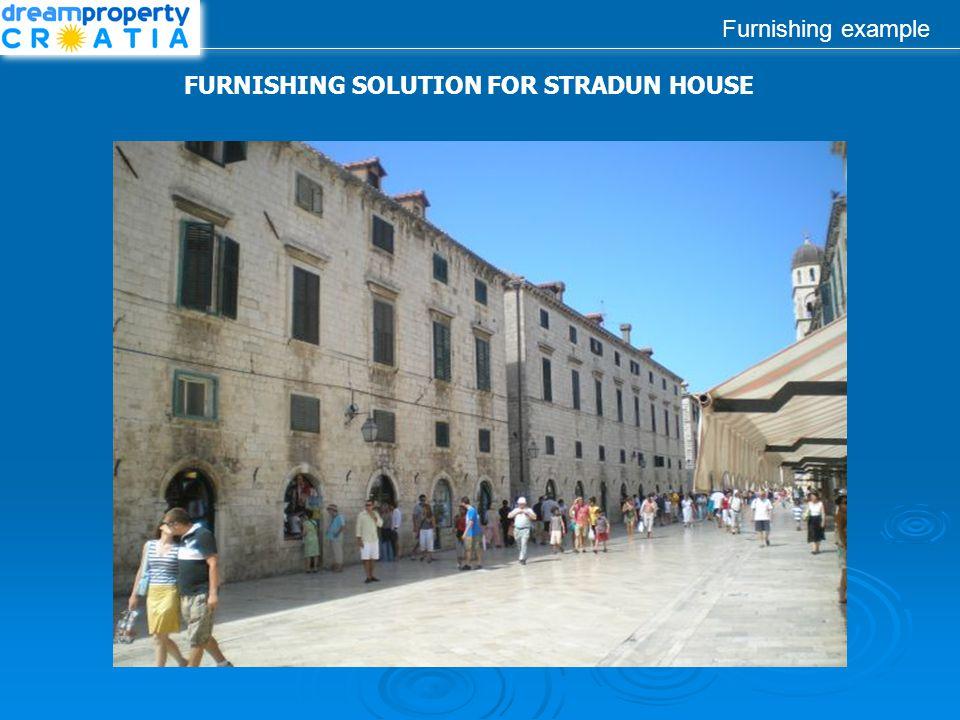Furnishing example FURNISHING SOLUTION FOR STRADUN HOUSE