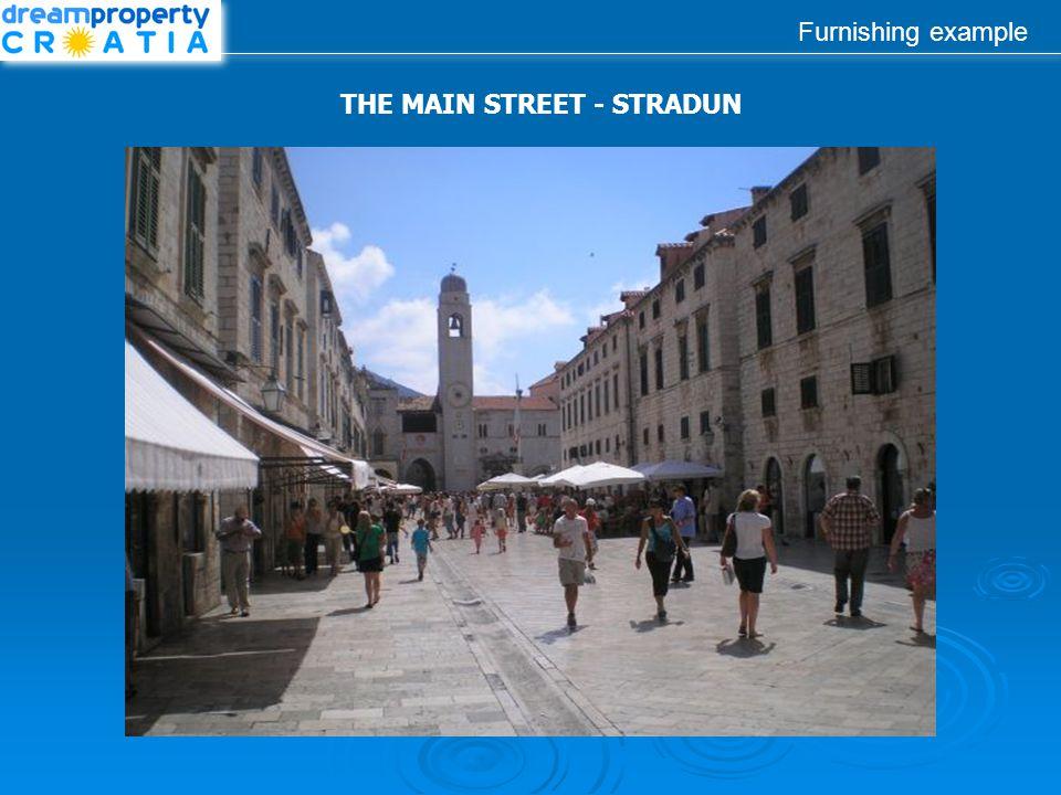 Furnishing example THE MAIN STREET - STRADUN