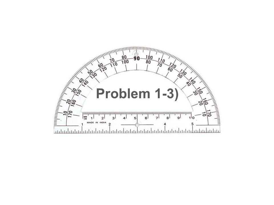 Problem 1-3)