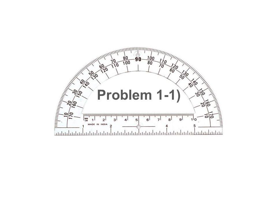 Problem 1-1)