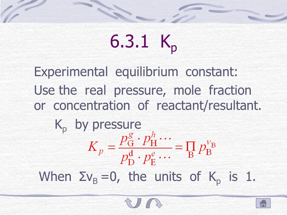T he changing value of standard Gibbs free energy; Obviously, in the chemical reaction equation, the computation coefficient assumes the multiple relation, the value of Δ r G $ m (T) is also assumes multiple relation, while the value of K $ f assumes exponential relation.