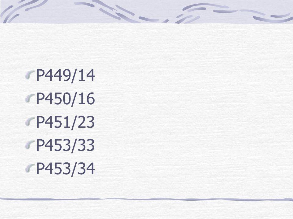 Exercises P446/1,2,5 P447/9, 10 P447/1 P448/9