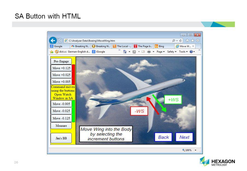 26 SA Button with HTML