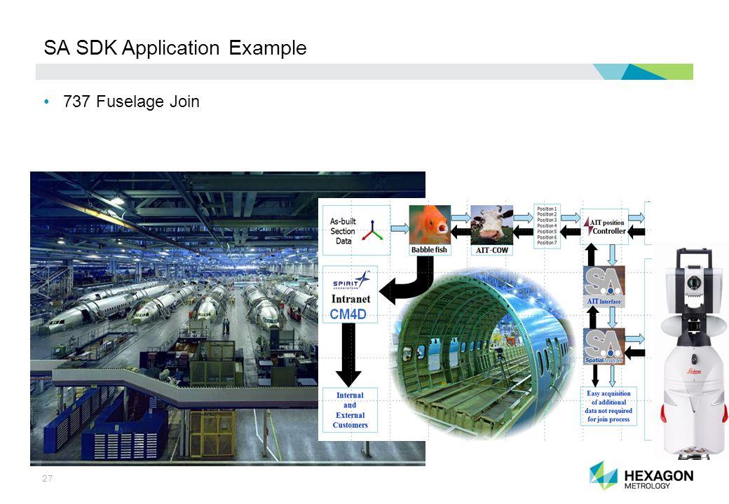 27 SA SDK Application Example 737 Fuselage Join