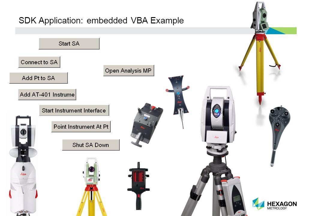 30 SDK Application: embedded VBA Example