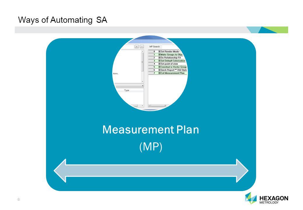 29 SA SDK Application Example: Mold and Segment Inspection