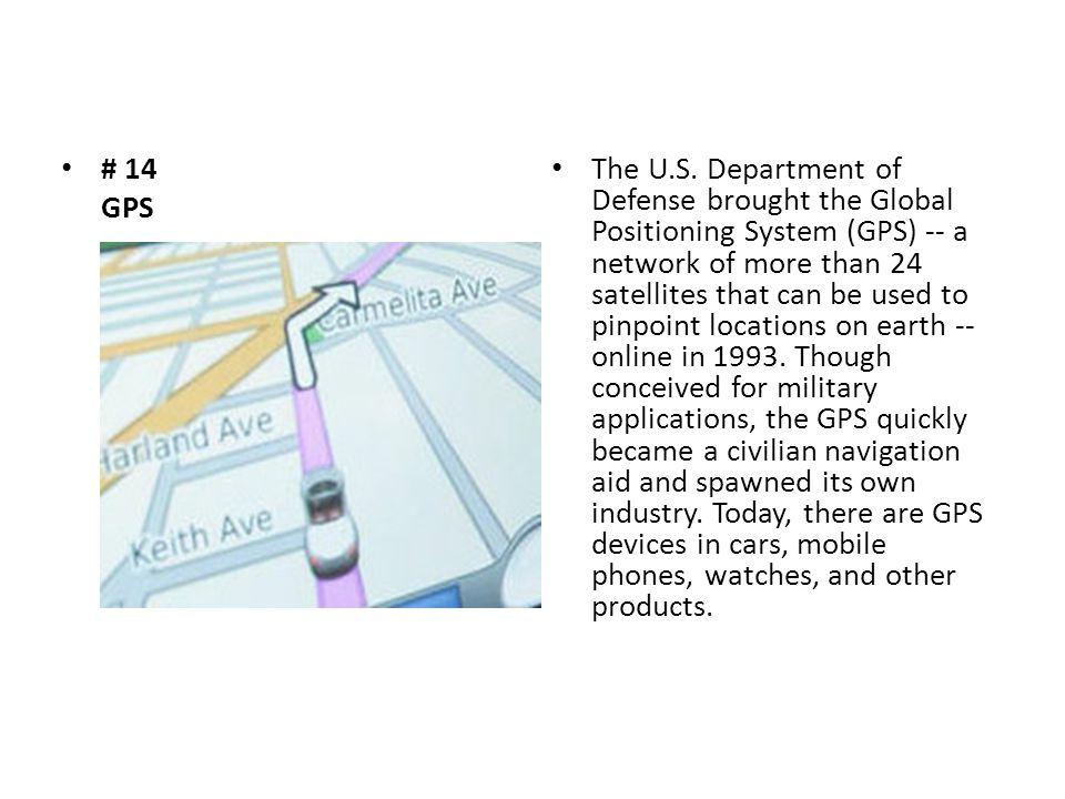 # 14 GPS The U.S.