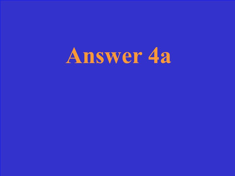 Question 3a