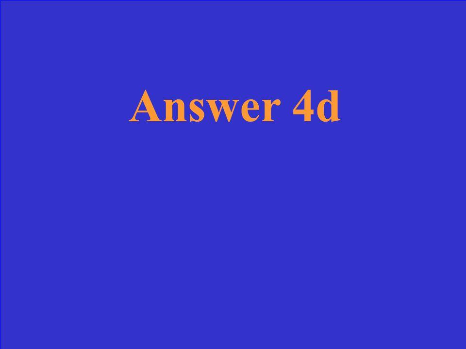 Question 3d