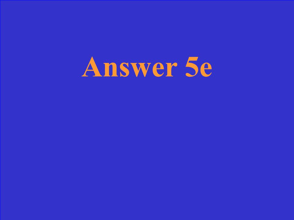 Question 4e