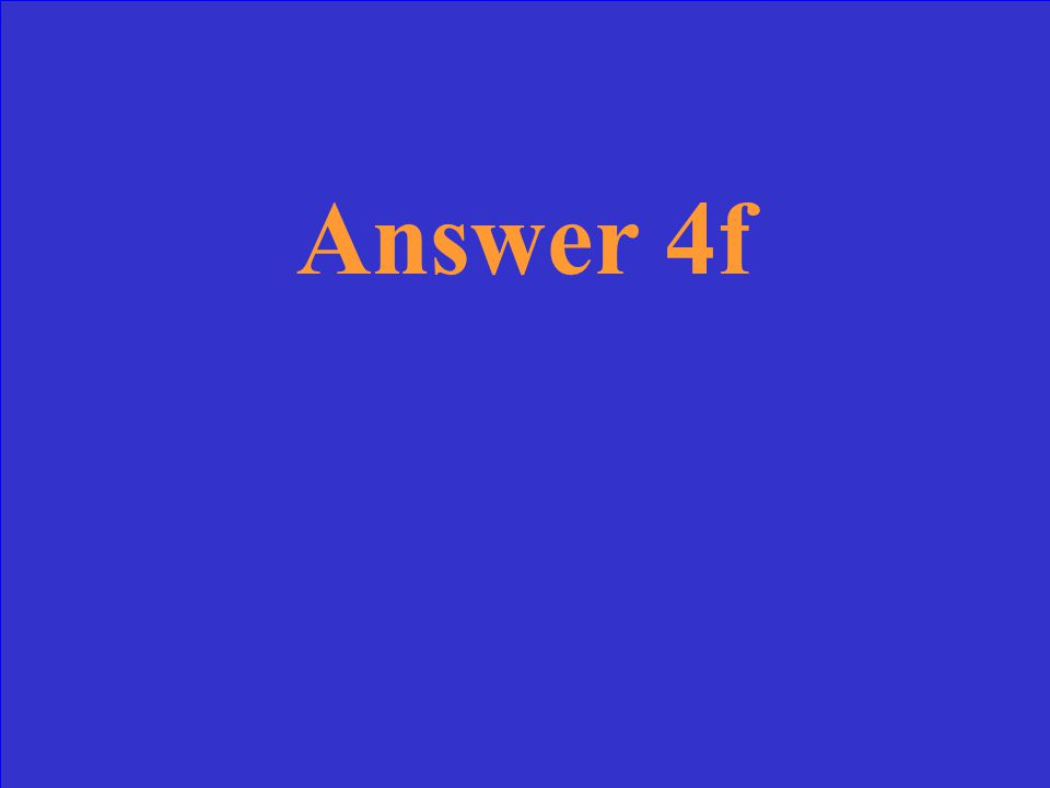 Question 3f