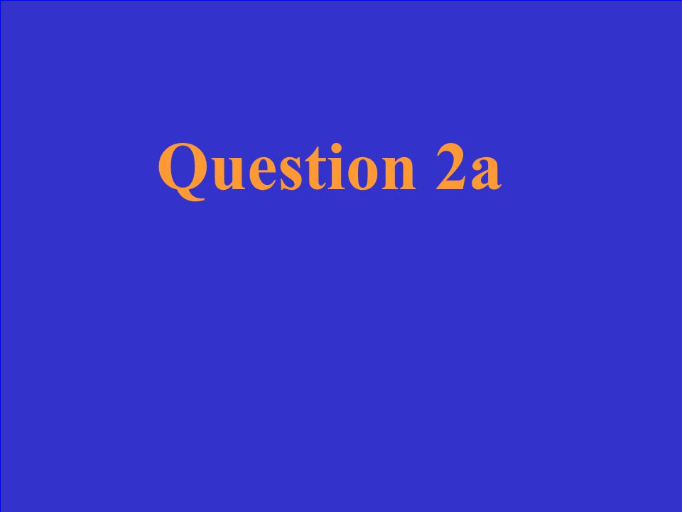 Question 2a