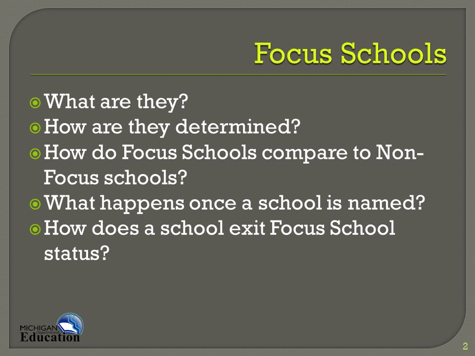  Is the bottom 30% subgroup in Focus schools actually high-performing.