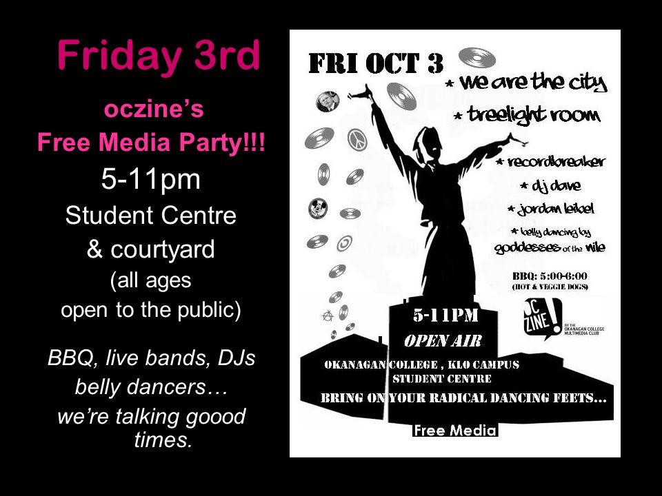 oczine's Free Media Party!!.