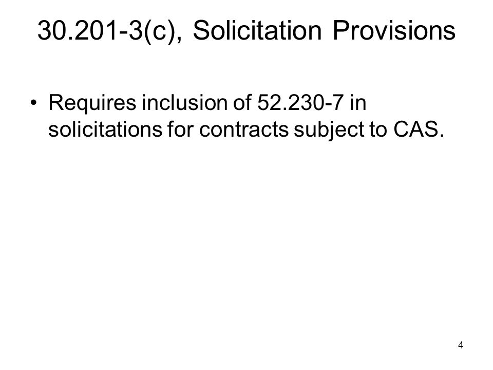 45 30.604(h)(4) Calculating Cost Impacts Cost impact for flexibly priced contracts for unilateral changes: Decreased costs = ETC current practice > ETC changed practice Increased costs = ETC current practice < ETC changed practice
