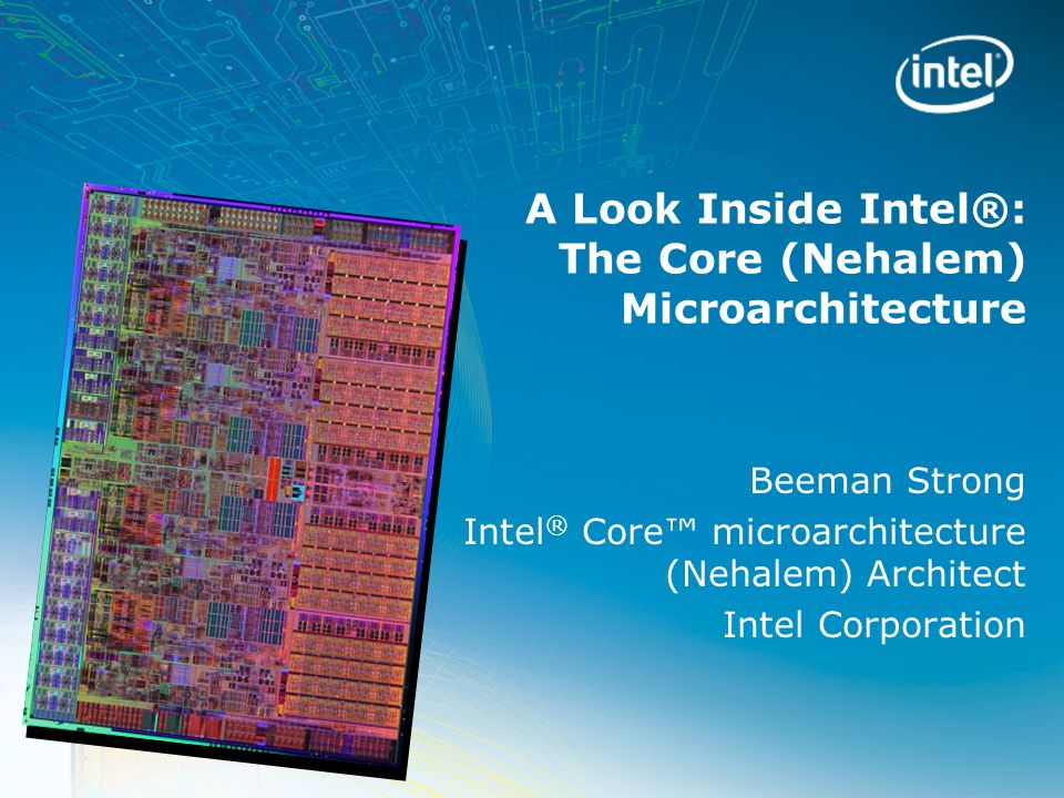 32 C6 on Intel ® Core™ Microarchitecture (Nehalem) Core 0 Core 1 Core 2 Core 3 Core Power Time 0 0 0 0 Cores 0, 1, 2, and 3 running applications.