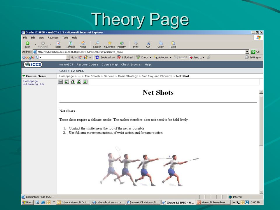 Theory Page