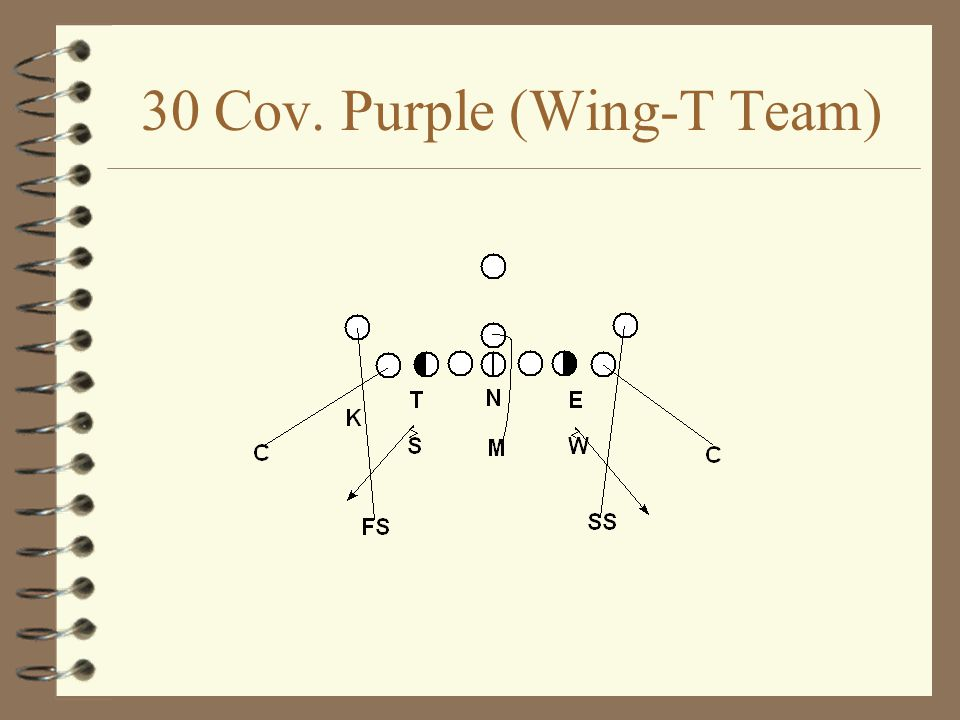 30 Cov. Purple (Wing-T Team)