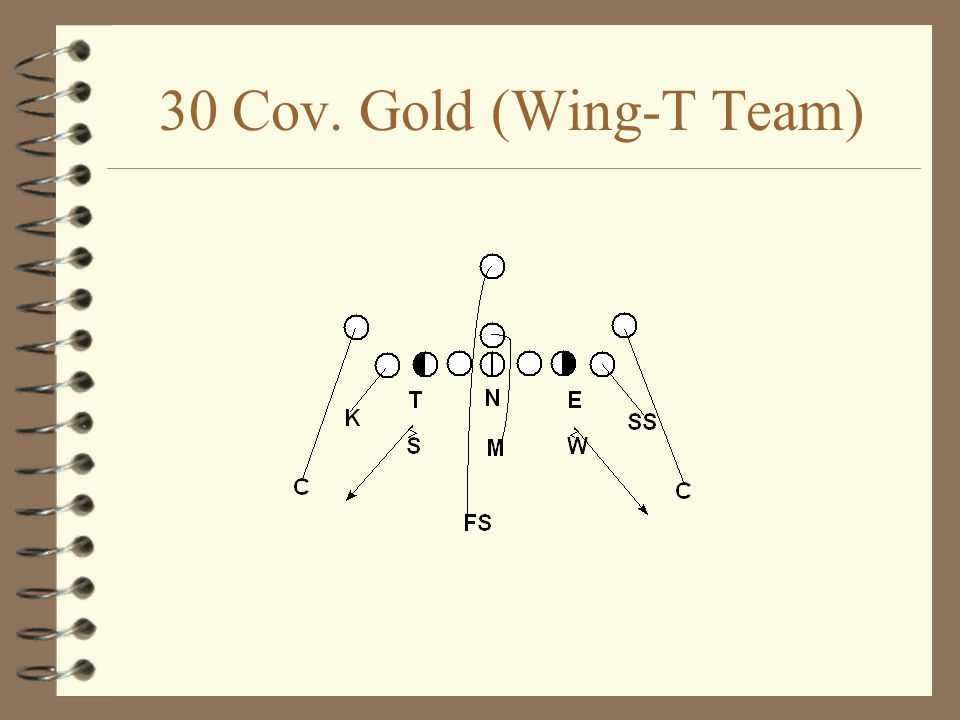 30 Cov. Gold (Wing-T Team)