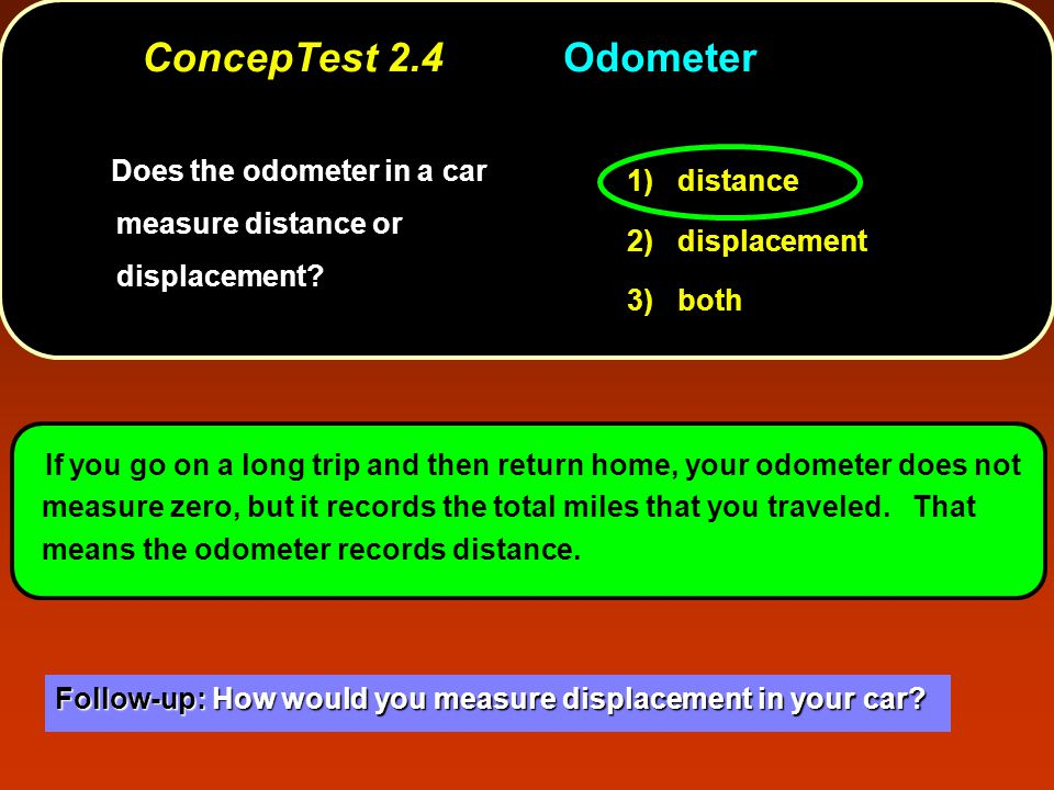 Does the speedometer in a car measure velocity or speed.