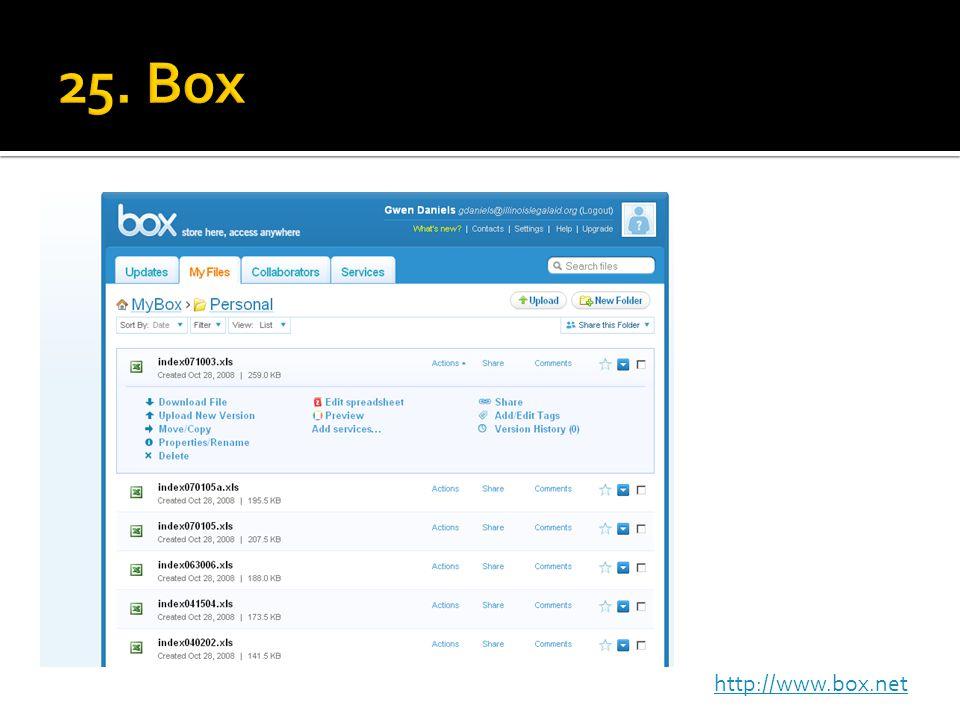 http://www.box.net