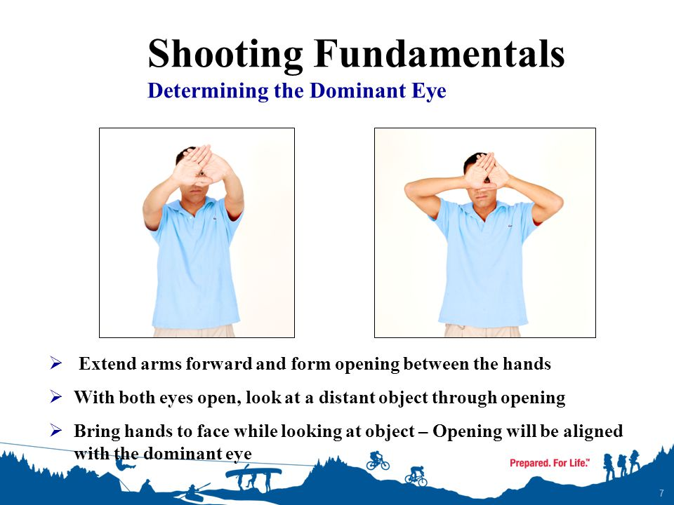Shooting Fundamentals The Fundamentals 1.AIMING (sight alignment & sight picture) 2.