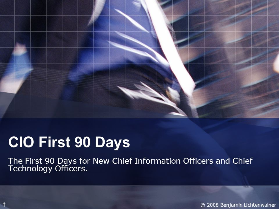 Timeline: First 30 Days The first 30 days emphasizes high level conversations and getting to know the new organization and / or role.