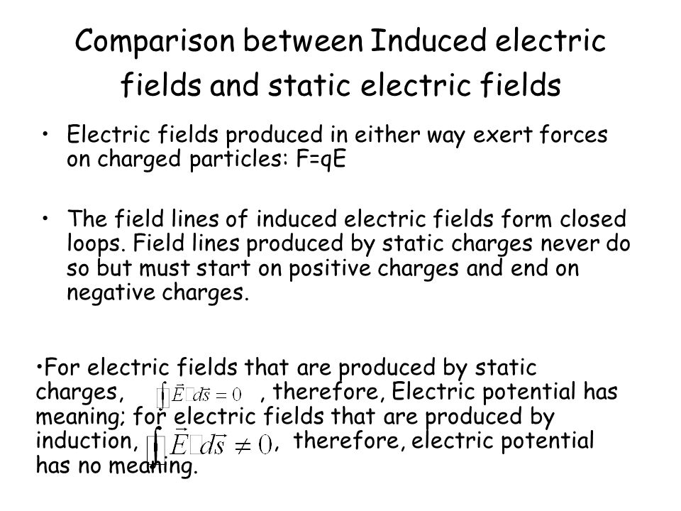 A Reformulation of Faraday s Law Consider a particle of charge q 0 moving around the circular path of Fig.