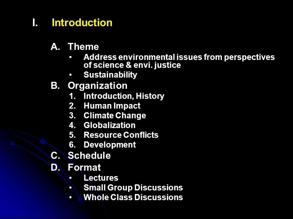 I.I.Introduction E.