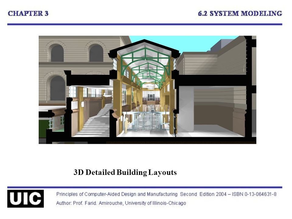 3D Detailed Building Layouts