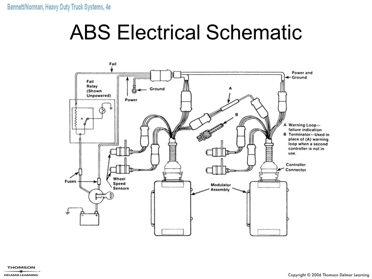 ABS Electrical Schematic