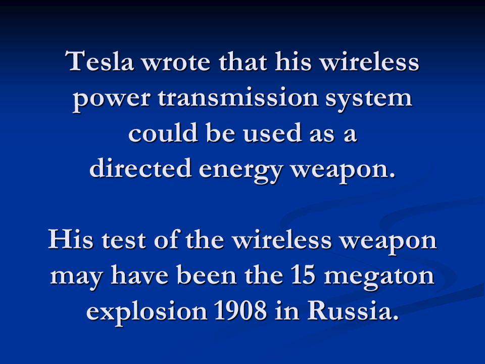 Tesla's transmitter on Long Island, NY