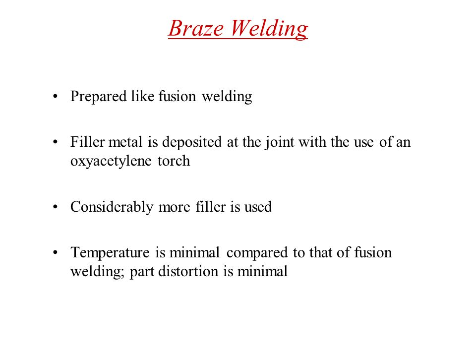 Brazing Process Capabilities Dissimilar metals can be assembled with good joint strength Shear strength of brazed joints can reach 800Mpa Fig:Joint Designs commonly used in brazing operations.The clearance between the two parts being brazed is an important factor in joint strength.If the clearance is to small, the molten braze metal will not fully penetrate the interface.