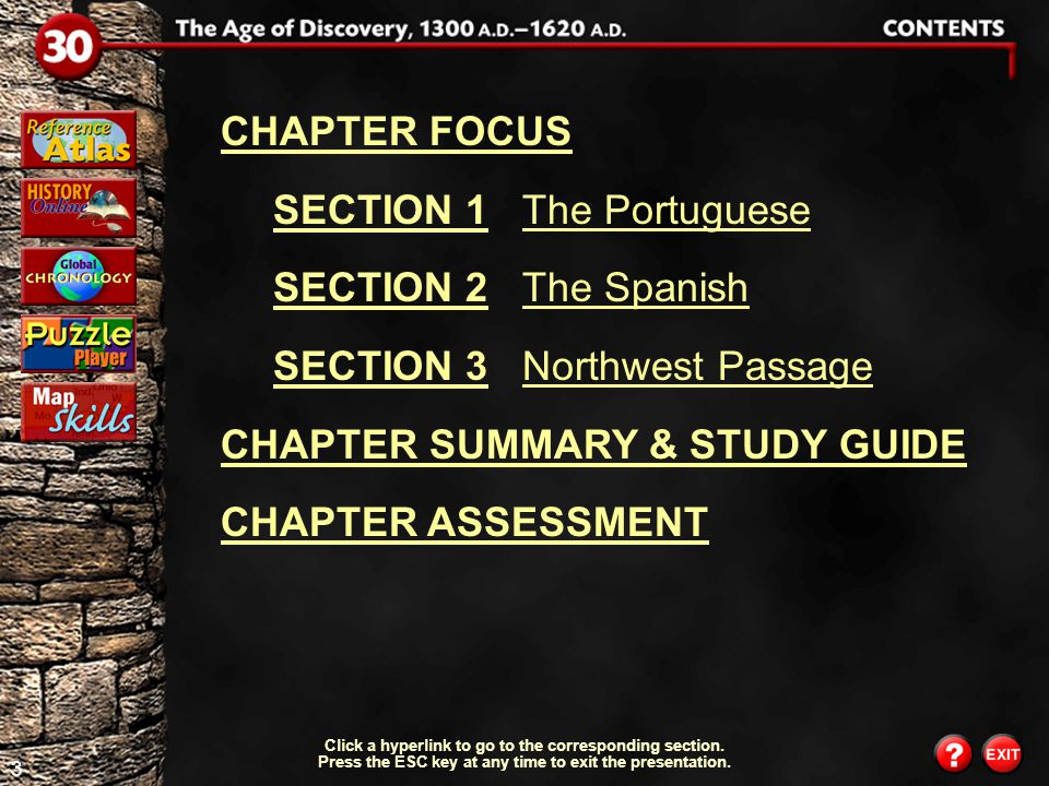53 Chapter Assessment 5 What did voyages in search of a northwest passage to Asia accomplish.