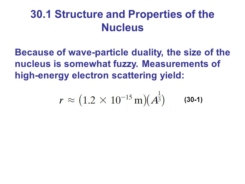 30.7 Conservation of Nucleon Number and Other Conservation Laws A new law that is evident by studying radioactive decay is that the total number of nucleons cannot change.
