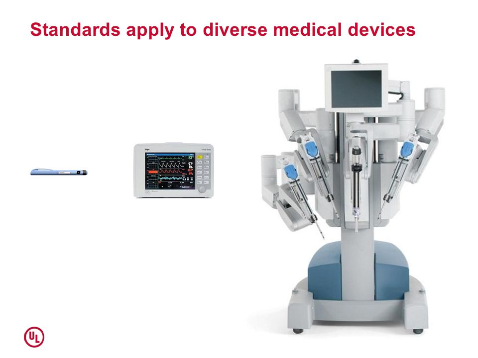 Standards apply to diverse medical devices