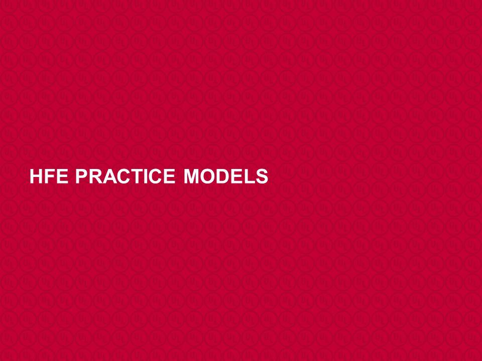 HFE PRACTICE MODELS