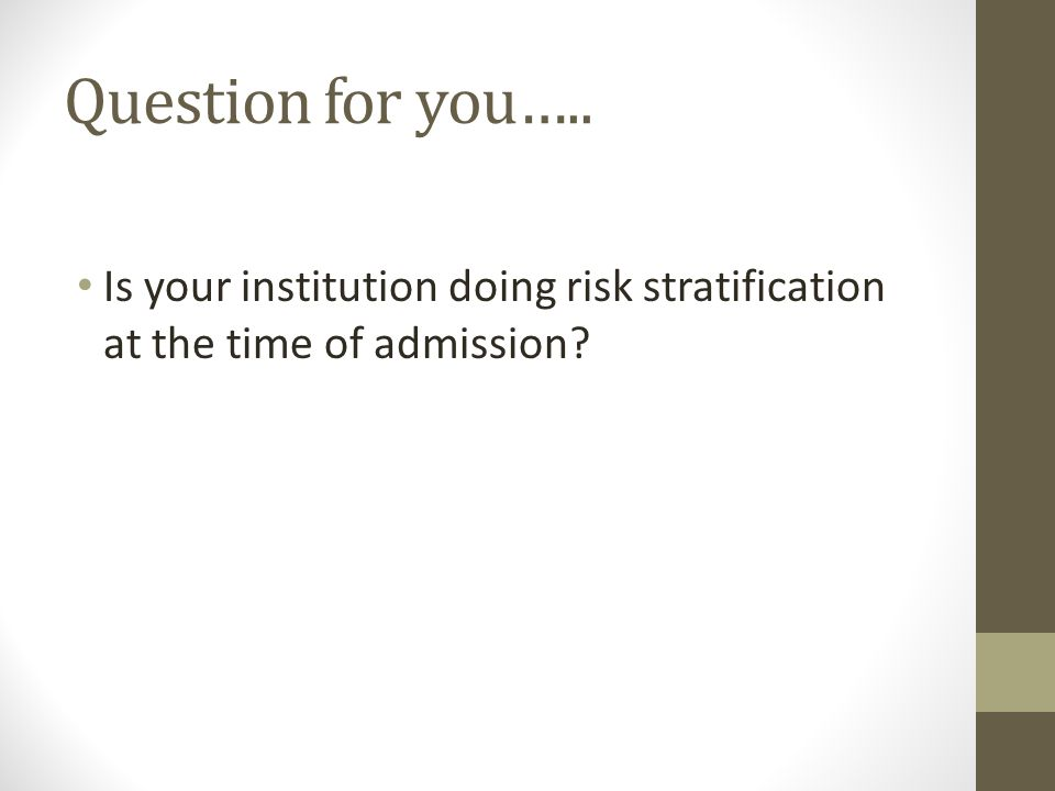 Who is at risk of Rehospitalization.
