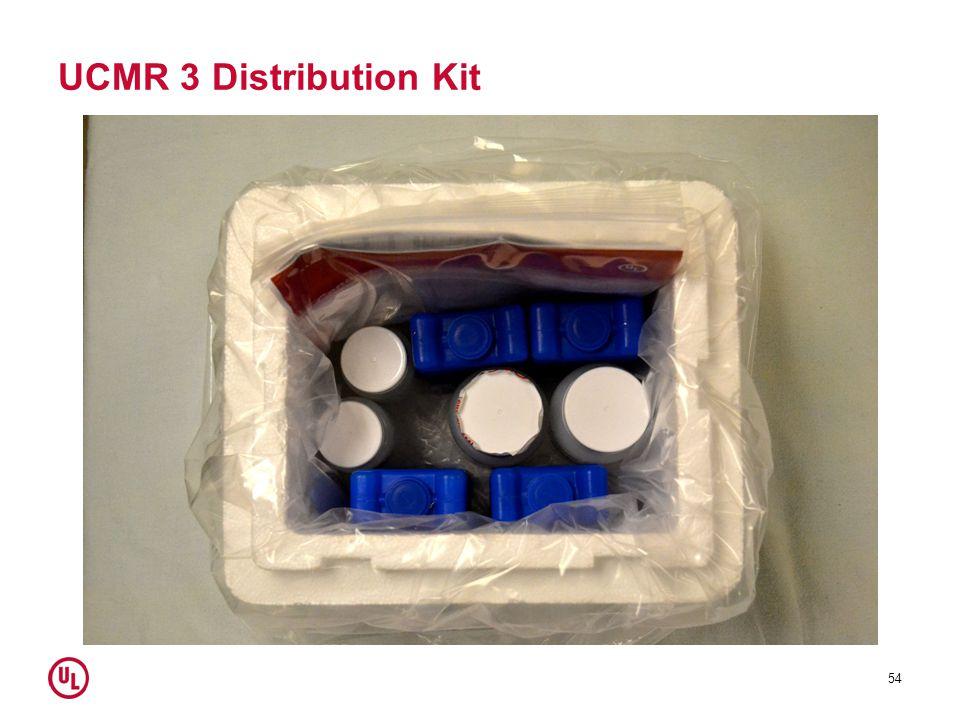 UCMR 3 Distribution Kit 54