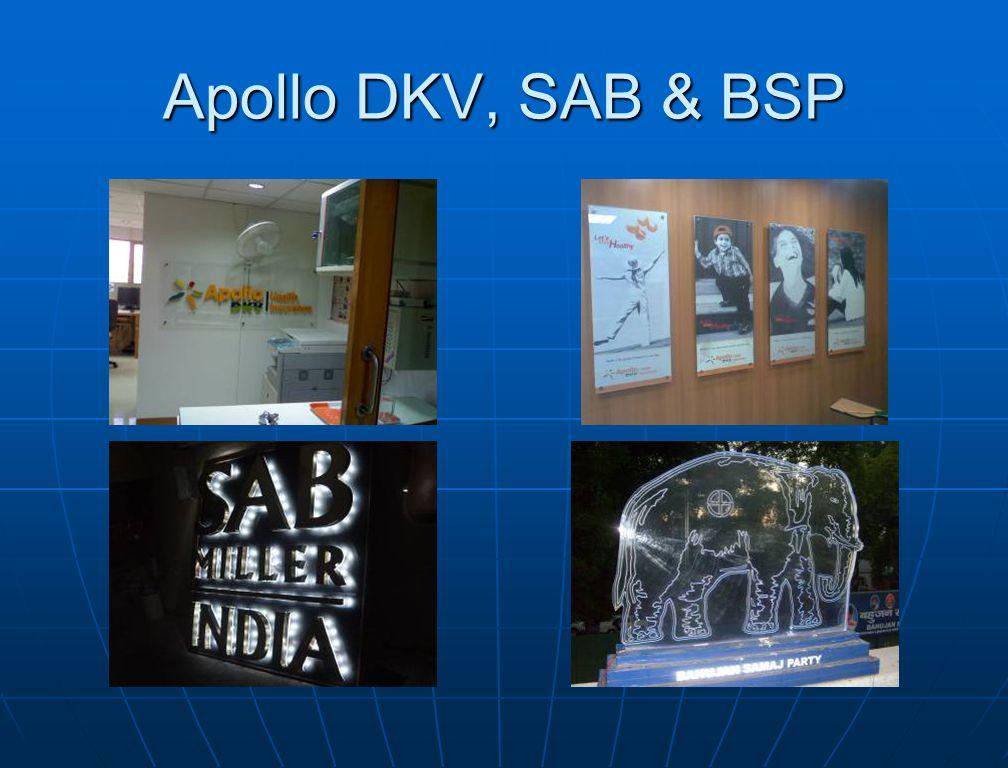 Apollo DKV, SAB & BSP