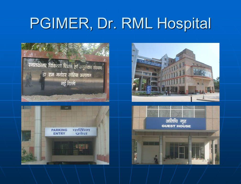 PGIMER, Dr. RML Hospital