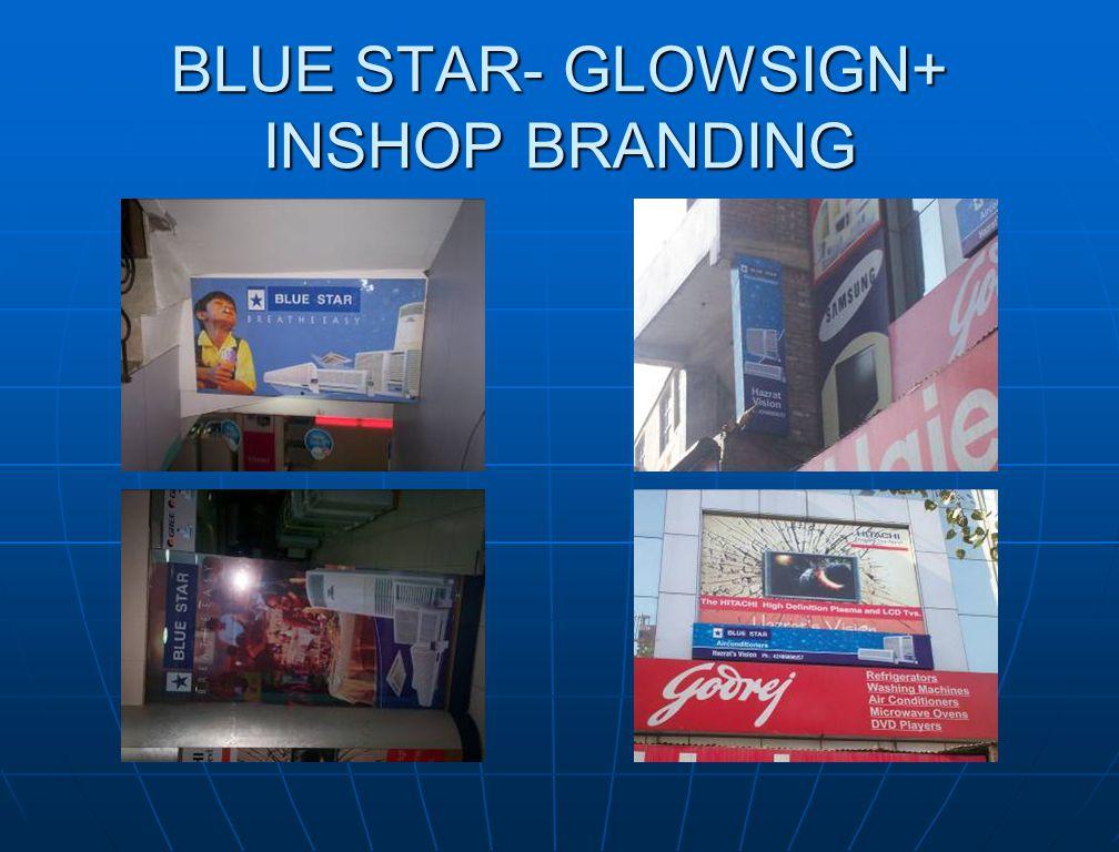 BLUE STAR- GLOWSIGN+ INSHOP BRANDING