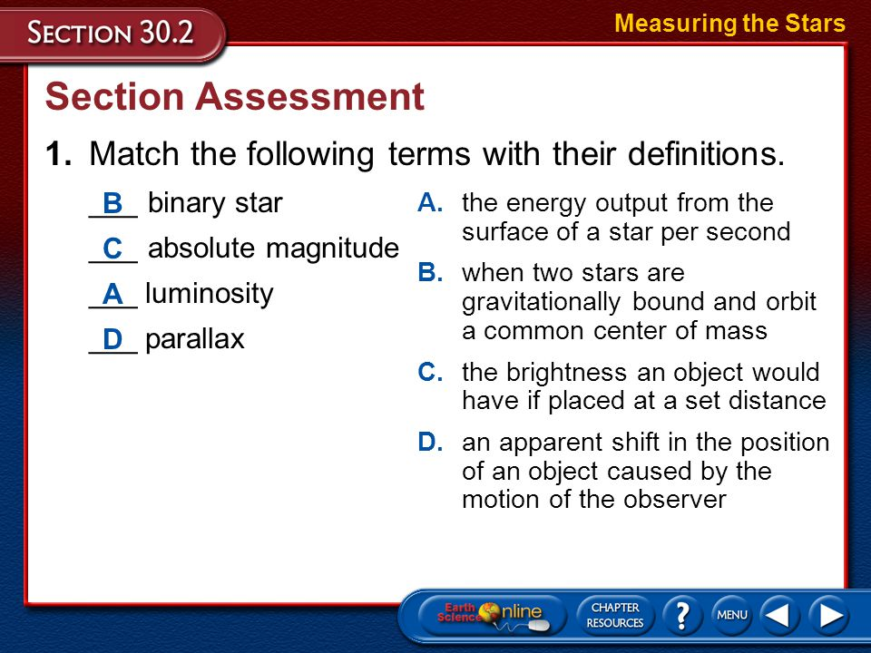 Spectra of Stars H-R Diagrams Measuring the Stars
