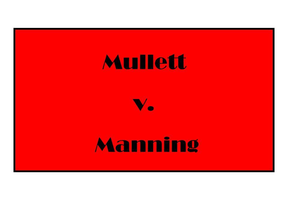 Mullett v. Manning