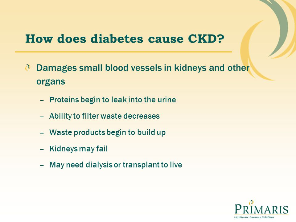 Signs of kidney damage Damage to kidneys may or may not involve kidney failure.
