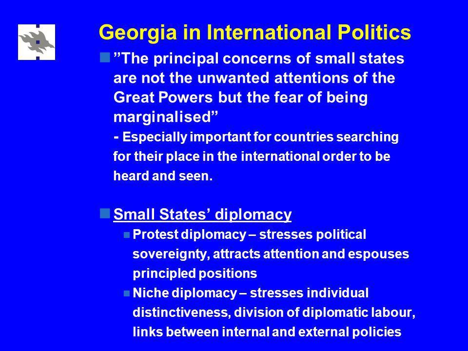 Georgia in International Politics Georgia-Russian relations – Russian WTO membership.